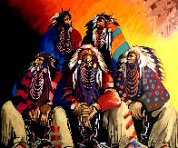 Land of the Free, Home of the Brave 1991 Limited Edition Print by Earl Biss - 0