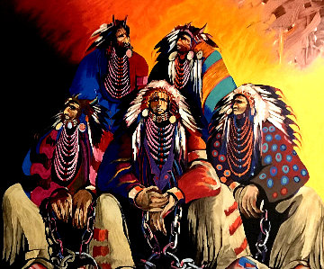 Land of the Free, Home of the Brave 1991 Limited Edition Print by Earl Biss