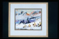 High Mountain Campground 1988 Limited Edition Print by Earl Biss - 1