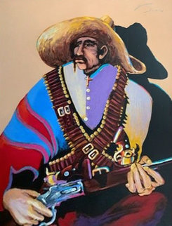Pancho Villa His Sunday Best  AP 1990 Limited Edition Print - Earl Biss