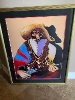 Pancho Villa His Sunday Best  AP 1990 Limited Edition Print by Earl Biss - 2