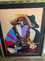 Pancho Villa His Sunday Best  AP 1990 Limited Edition Print by Earl Biss - 5