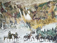 Autumn Storm on the Crazy Woman Mountains 1995 Limited Edition Print by Earl Biss - 0