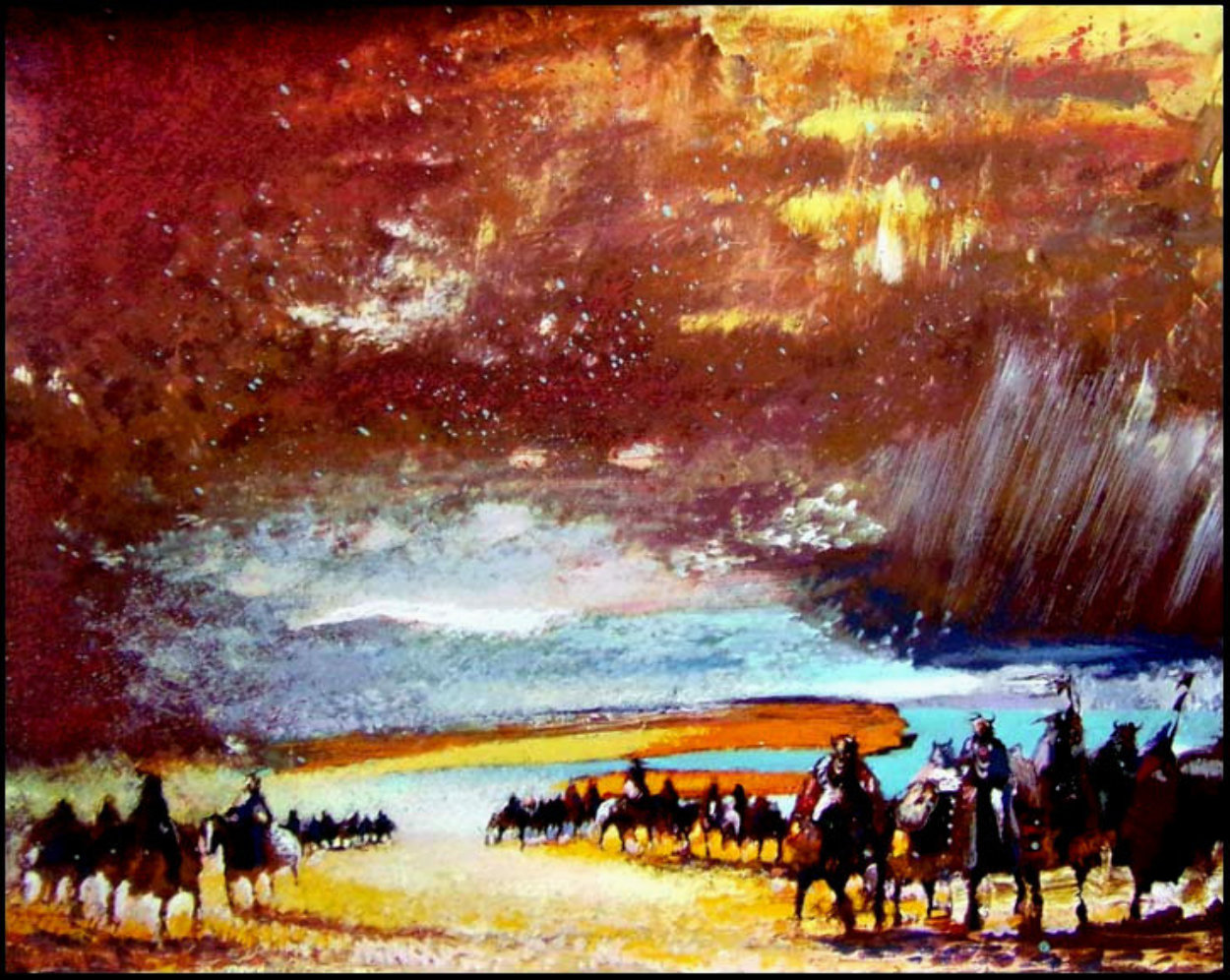 They Stood Like the Glory of the Sun 1995 Limited Edition Print by Earl Biss
