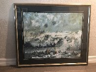 Another Storm Along the Rockies 1995 Limited Edition Print by Earl Biss - 2