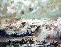 Another Storm Along the Rockies 1995 Limited Edition Print by Earl Biss - 0