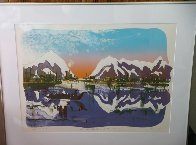 When the Raven Returns to the Skokomish TP 1978 Limited Edition Print by Earl Biss - 1