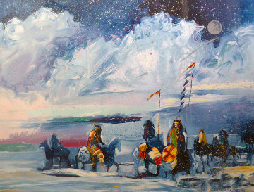 War Flags on Broken Waters #1 in edition 1988 Limited Edition Print by Earl Biss