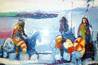 War Flags on Broken Waters #1 in edition 1988 Limited Edition Print by Earl Biss - 1