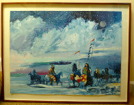 War Flags on Broken Waters #1 in edition 1988 Limited Edition Print by Earl Biss - 2