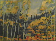 Autumn in the Rockies 1983 Limited Edition Print by Earl Biss - 0