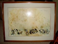 Turning in War Dust 1984 Limited Edition Print by Earl Biss - 6
