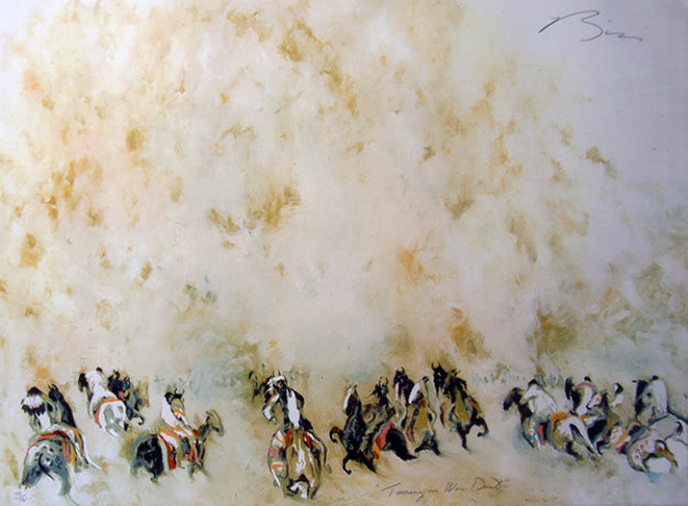 Turning in War Dust 1984 Limited Edition Print by Earl Biss