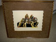 Old Chiefs Posing 1986 Limited Edition Print by Earl Biss - 2