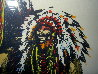 Old Chiefs Posing 1986 Limited Edition Print by Earl Biss - 1