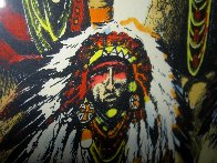 Old Chiefs Posing 1986 Limited Edition Print by Earl Biss - 6