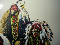 Old Chiefs Posing 1986 Limited Edition Print by Earl Biss - 7