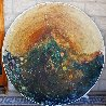 Earth Shield 48 in round Original Painting by Earl Biss - 1