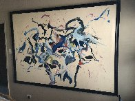 Dream of Wild Horses 1980 64x88 Original Painting by Earl Biss - 4
