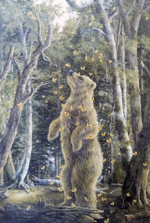 Golden Bear 2010 39x29 Limited Edition Print by Robert Bissell