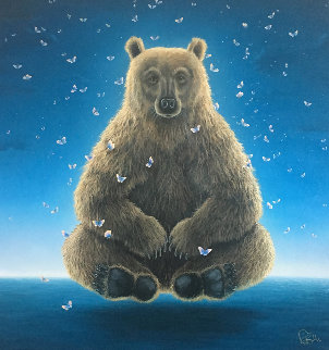 Sage of the Night   Limited Edition Print by Robert Bissell