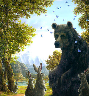 Oracle 2009  Limited Edition Print by Robert Bissell