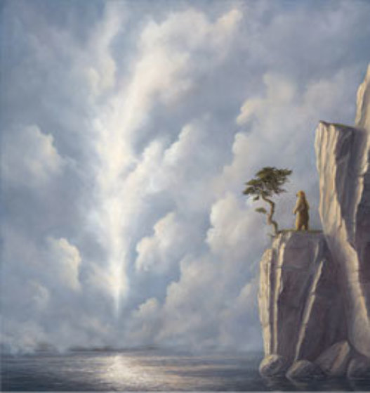 Transfiguration 52x50 Original Painting by Robert Bissell