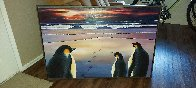 Emperors At the Dawn 1997 32x47 Huge Original Painting by Robert Bissell - 2