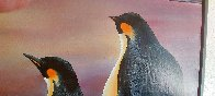 Emperors At the Dawn 1997 32x47 Huge Original Painting by Robert Bissell - 4