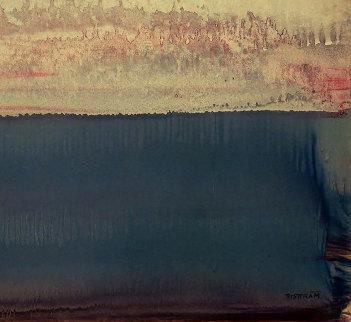 Untitled Monoprint 13x19  by Emil Bisttram