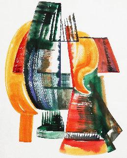 Transcendental Abstraction 1940 32x26 Works on Paper (not prints) by Emil Bisttram