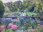 Gardens At Cranbrook  Original Painting - Pierre Bittar