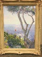 Mediterranean Shore 2002 39x50 Original Painting by Pierre Bittar - 1