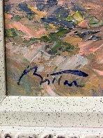Mediterranean Shore 2002 39x50 Original Painting by Pierre Bittar - 2