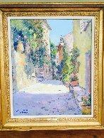 Hauts De Cagnes 28x32 Original Painting by Pierre Bittar - 2