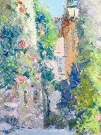 Hauts De Cagnes 28x32 Original Painting by Pierre Bittar - 1
