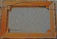 Theatre Du Vaudeville 24x29 Original Painting by Antoine Blanchard - 2