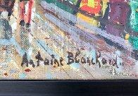 Bouquinistes De Notre-dame 9x11 Paris Original Painting by Antoine Blanchard - 3