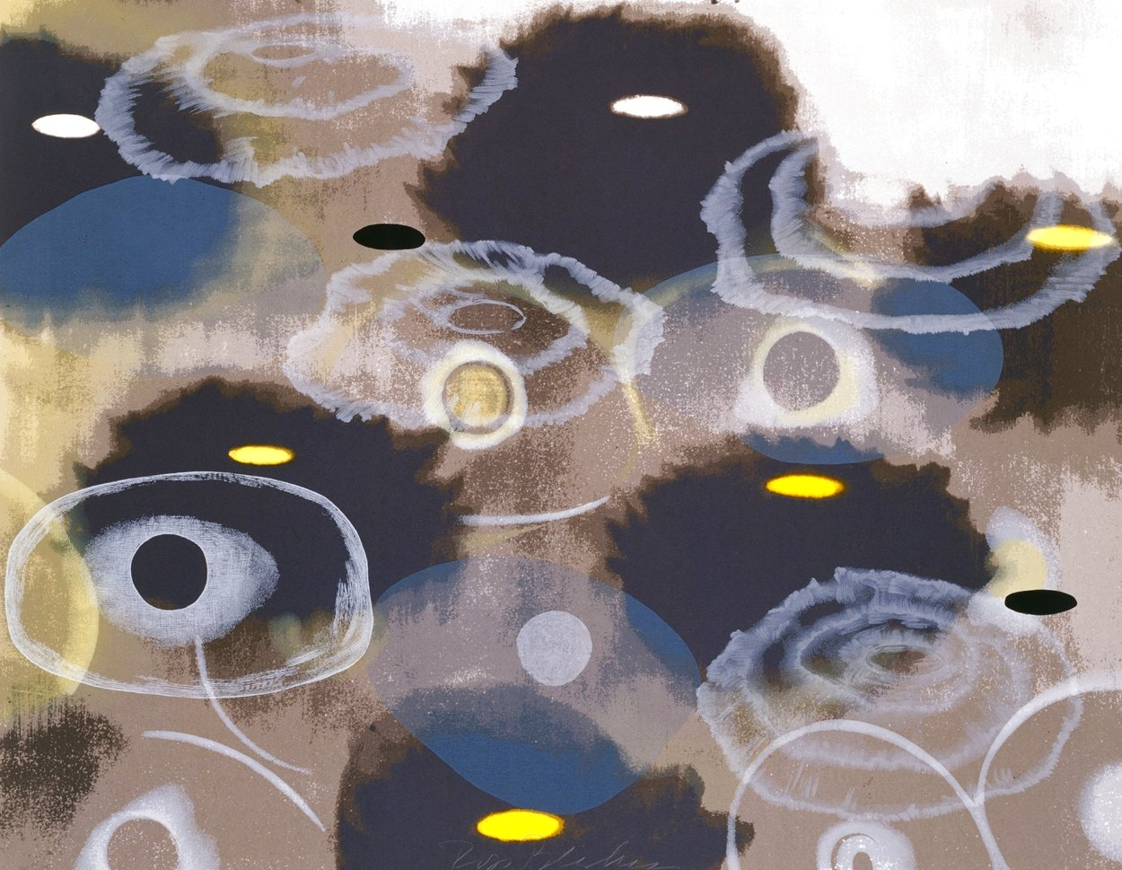 Just Because, I 1997 Limited Edition Print by Ross Bleckner