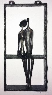 Untitled Bronze Sculpture  1999 13 in  Sculpture by Ruth Bloch
