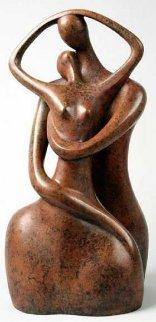 Entanglement Bronze Sculpture 2000 27 in.  Sculpture by Ruth Bloch