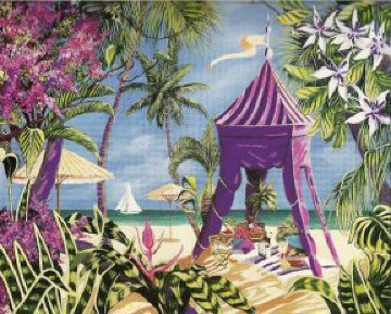 Fantasy Island 1999 Limited Edition Print by Shari Hatchett Bohlmann