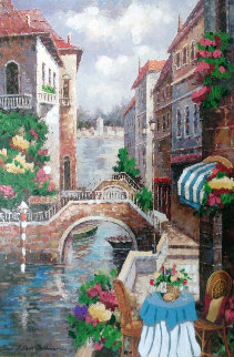 Let Venice Seduce Your Soul  2007 Embellished Limited Edition Print by Shari Hatchett Bohlmann
