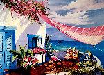 Tropical Paradise 1990 Limited Edition Print - Shari Hatchett Bohlmann