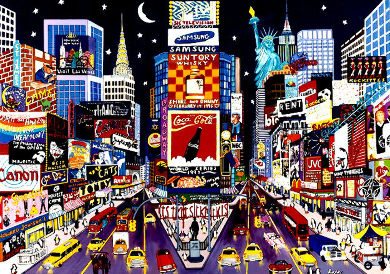 New York Glitter  Limited Edition Print by Sharie Hatchett Bohlmann