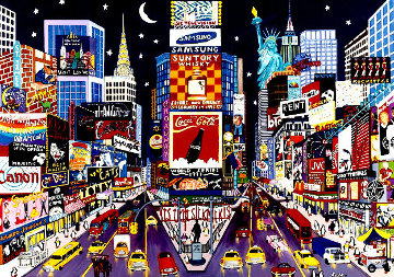 New York Glitter  Limited Edition Print by Shari Hatchett Bohlmann