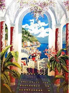 From Portofino With Love 1999 Limited Edition Print - Shari Hatchett Bohlmann
