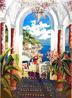 From Portofino With Love 1999 Limited Edition Print - Sharie Hatchett Bohlmann