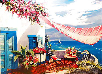 Tropical Afternoon 1999 Limited Edition Print - Sharie Hatchett Bohlmann