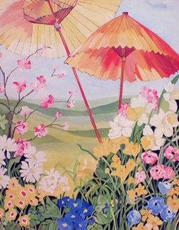 Untitled Painting 45x54 Super Huge Original Painting - Sharie Hatchett Bohlmann